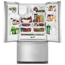 Best French Door Refrigerator Brand - maytag refrigerators appliances the home depot