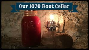 our 1870 root cellar youtube