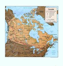 Physical Map Of United States by Physical Map Of United States And Canada