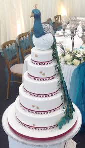 wedding cake nottingham blue peacock wedding cake derby nottingham london