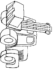 tractor trailer coloring pages tractor trailer coloring page trucks tractors and diggers pinter
