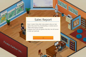 game dev tycoon info stats mod bug players who pirated game dev tycoon see their virtual studios hit