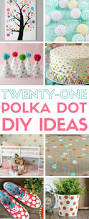 Home Decorating Diy Ideas by 21 Polka Dot Pattern Diy Ideas The Crafty Blog Stalker