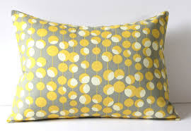 Sofa Pillows Ideas by Yellow And Gray Throw Pillows