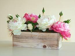 wood boxes wood box rectangular weddings flowers centerpieces