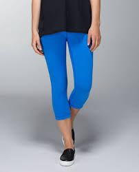 lululemon wunder under crop reversible black pipe dream blue