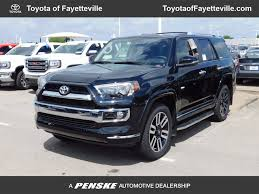 2017 toyota 4runner limited new toyota 4runner at toyota of fayetteville serving nwa