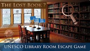 unesco library room escape game utrecht en u2013 the lost book
