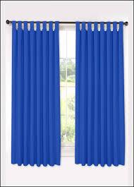 blue tab top curtains 66 x 54