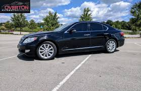 lexus luxury sedan 2011 lexus ls 430 awd the most reliable big luxury sedan made