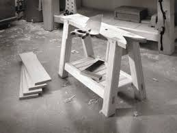 Woodworking Shop Bench Height by Traditional Sawbench Popular Woodworking Magazine