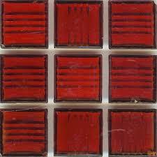 mosaic glass tile red clear red brio modwalls designer tile
