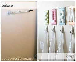 bathroom towel hooks ideas my kid s bathroom initials towels and bar