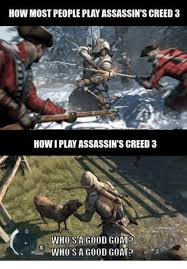 Assassins Creed 4 Memes - 25 best memes about assassins creed 3 assassins creed 3 memes