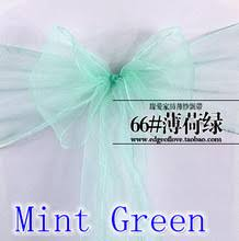 cheap chair sashes wholesale popular mint chair sashes buy cheap mint chair sashes lots from