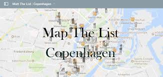 Copenhagen Map The Maps U2013 Matt The List