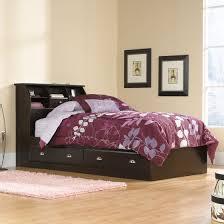 Shoal Creek Bedroom Furniture Sauder 412093 Shoal Creek Jamocha Wood Storage Drawers Bookcase