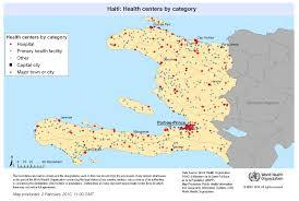 Earthquake World Map by Who Haiti Earthquake 2010 One Year Later