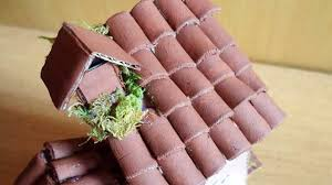 create miniature clay roof tiles crafts guidecentral youtube