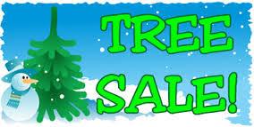 christmas tree on sale st bernadette cyo