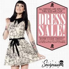 dress sale sourpuss clothing sourpuss clothing