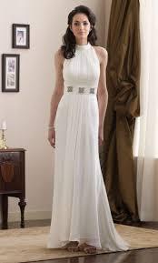 high neck halter wedding dress destinations by mon cheri high halter neck gown 210161 novelty