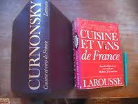 curnonsky cuisine et vins de curnonsky cuisine et vins de larousse 1953 ebay