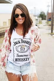 stunning summer 2015 flower cover jack daniels t shirt