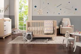 hudson 3 in 1 convertible crib in washed natural by babyletto