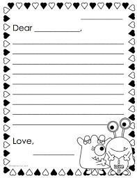 39 best letter writing images on pinterest writing ideas