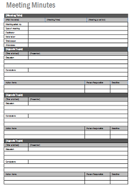 excel meeting minutes template sample meeting minutes sample