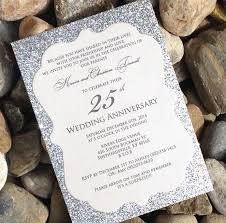silver wedding invitations amazing silver wedding anniversary invitation cards 11 for your