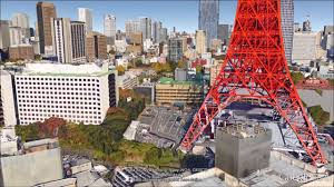tokyo fly through tour in google earth youtube