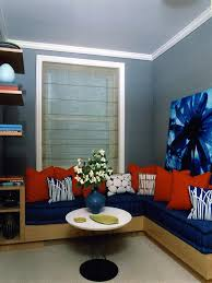 Modern Living Room Ideas For Small Spaces 5 Small Room Rules To Break Hgtv
