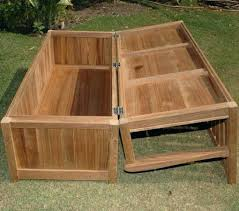 Large Storage Bench Garden Storage Box Outdoor Storage Box Bench Large Storage Bench