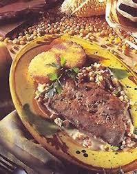 cuisiner le foie de veau escalope de foie de veau à la crème de lard recette escalope de
