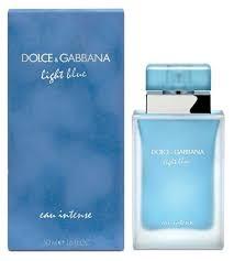 dolce and gabbana light blue for women gabbana light blue eau intense for women
