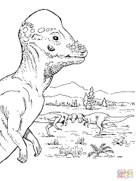 ornithischian dinosaurs coloring pages free coloring pages