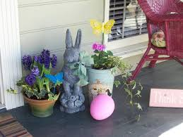 Outdoor Easter Decorations Ideas by 39 Best Decorated Easter Porch Images On Pinterest Easter Ideas