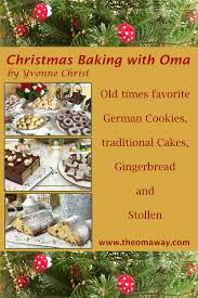 christmas baking with oma traditional german recipes download