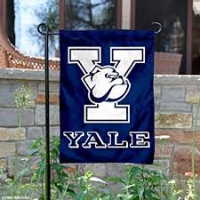 yale garden flag and yard banner sports fan outdoor