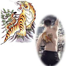 beautiful tiger drawings for back tatto