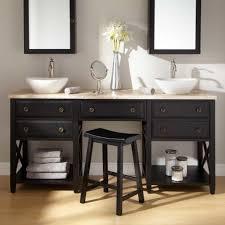 bathroom makeup vanity ideas bathroom inspiring diy vessel sink vanity for bathroom interior