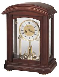 Oval Office Clock by Amazon Com Bulova B1848 Nordale Clock Walnut Finish Home U0026 Kitchen