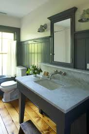 Horizontal Beadboard Bathroom Baroque Brook Farm General Store Look Jackson Industrial Exterior
