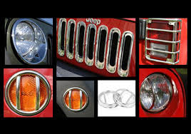 Rugged Ridge Grille Inserts Jeep Jk Rugged Ridge Jeep Wrangler Polished Stainless Steel Euro Guard