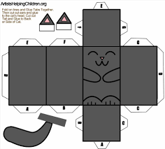 mask template diy cat mask template easy halloween tutorial easy