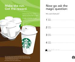 5th coffee free at starbucks coupon via the coupons app the