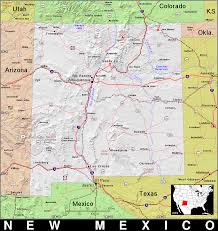 Map New Mexico by Nm New Mexico Public Domain Maps By Pat The Free Open Source