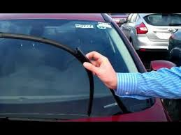 Sho Wiper jz at avis ford shows us how to change ford s new style of wiper